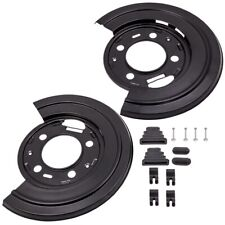 for Ford F250 F350 F450 Excursion Rear Brake Dust Shield Backing Plates Pair