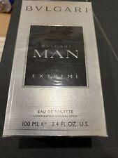Bvlgari MAN Extreme EDT Eau de Toilette  2oz 60ml New Dented box