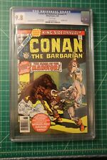 CONAN THE BARBARIAN KING-SIZE ANNUAL #4 CGC GRADED AT 9.8 WHITE PAGES 1978