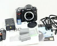 Nikon D80 10.2MP Digital SLR Camera Body Only LOW SHUTTER COUNT