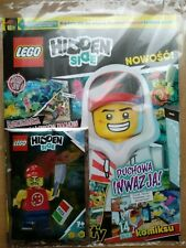 LEGO HIDDEN SIDE 2/2019 + HAUNTED PIZZA BOY Limited Edition Mini Figure