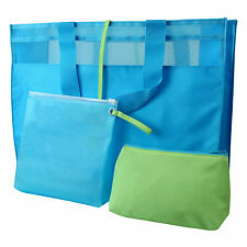 Beach Tote Bag and Mat Set Summer Outdoor Holiday Picnic Camping Blanket Travel