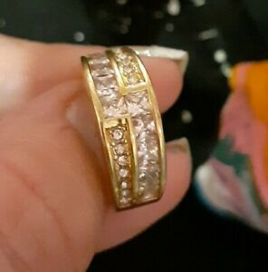 10k gold ring pre owned woman