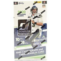 2020 DONRUSS FOOTBALL HOBBY FACTORY SEALED HOBBY BOX IN STOCK FREE SHIPPING