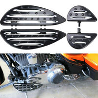 CNC Passenger Floorboards Floor Boards Foot Pegs For Harley Electra Glide Dyna