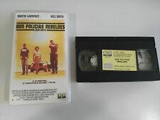 DOS POLICIAS REBELDES VHS TAPE CINTA COLECCIONISTA EDICION ESPAÑOLA WILL SMITH