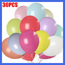 """30Pcs Colorful Pearl Latex Balloons Wedding Party Celebration Birthday 10"""" NEW"""
