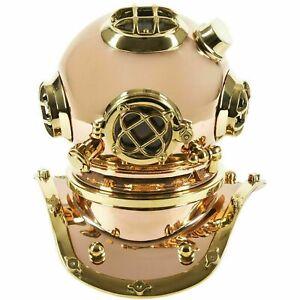 "12"" solid brass Diving Helmet Replica handmade style design Gift"