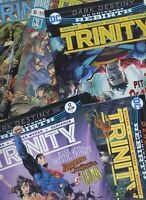 CLEARANCE: TRINITY #11 #12 #15 #16 or #17 DC comics NM 2017 🔥🔥🔥