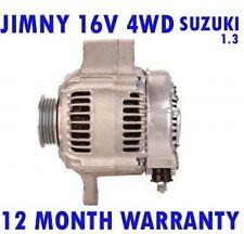 SUZUKI JIMNY (FJ) 1.3 16V 4WD 1998 1999 2000 2001 2002 - 2015 RMFD ALTERNATOR