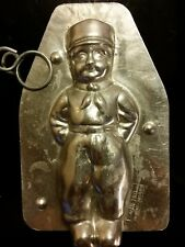 METRO 1959 DUTCH FARMER VOLENDAM BOY JUNGE CHOCOLATE MOLD VINTAGE ANTIQUE