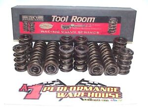 """16 Isky 1.625"""" Roller Cam Dual Valve Springs with Damper Crower PAC Comp #1645"""