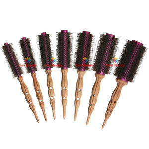 DAJUJA Speed Antique Brush No.1-7 / Professional Pure Boar Bristles Roll Brush