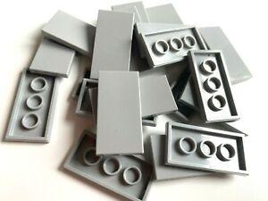 LEGO ®  20 Fliesen 2x4 in  hellgrau (light bluish gray ) , NEUWARE