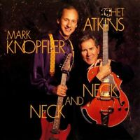 CHET ATKINS AND MARK KNOPFLER neck and neck (CD album, 1991) blues rock, country