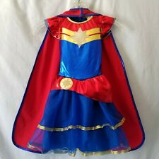 Girls Wonder Woman Halloween Dress Up Costume Rubies Small Great Pretenders Cape