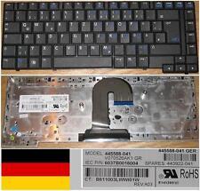 Teclado Qwertz Alemán HP 6510B 6515B V070526AK1 445588-041 443922-041 Negro