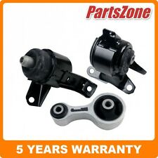 Rear Left Right Engine Motor Mount Set 3 Fit for Mazda 6 02-08 2.3L Auto Manual