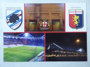 Stadionpostkarte, Stadio Comunale Luigi Ferraris, Genua, Sampdoria, Nr. RW 88