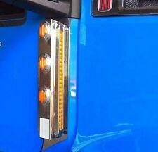 Kenworth T680 T880 & Volvo Mirror Light Bar-10 Light Cuts- Pair # 13452