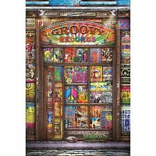 GROOVY RECORDS - ALBUM COLLAGE POSTER 24x36 - ROCK MUSIC 11105