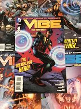 Vibe #1-6 Comic Book Lot Geoff Johns David Finch Cover Justice League Spinoff