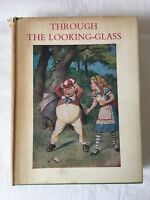 THROUGH THE LOOKING-GLASS By Lewis Carroll / Sir John Tenniel / Macmillan 1965