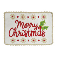 St. Nicholas Square® Christmas Traditions Merry Christmas Bath Rug