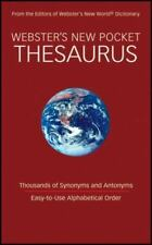 NEW - Webster's New Pocket Thesaurus
