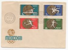 1969 HUNGARY First Day Cover MEXICO 1968 OLYMPIC GOLD MEDAL WINNERS Sport