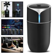 230ml Mini Ultrasonic Air Diffuser Mist Purifier Aroma Air Humidifier 7Led Light