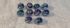 """Winnipeg Jets NHL 5/8"""" GLASS MARBLES COLLECTION"""