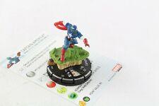 Heroclix Marvel 10th aniversario Capitán América 023 Super Raro Chase V3