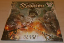 SABATON-HEROES ON TOUR-2016 2xLP CLEAR VINYL-LIMITED TO 500-NEW & SEALED