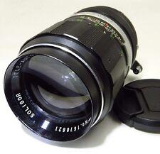 Soligor TX T4 135mm f2.8  manual focus Lens