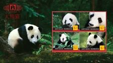 Antigua 2011 - China Expo Panda - Sheet of 4 - MNH