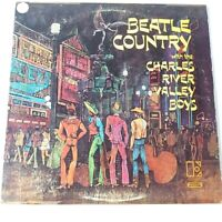 Charles River Valley Boys - Beatle Country - Vinyl LP UK 1st Press EX+ Beatles