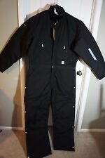 Carhartt Men's Arctic Quilt Lined Yukon Coverall X06, SIZE 34 Regular