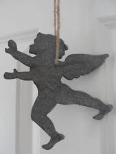Christbaumschmuck aus Holz mit Engel-Motiv