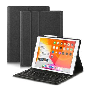 """Bluetooth Tastatur Hülle für iPad 10.2"""" 2020 2019 8. Gen/7. Gen mit Stifthalt"""