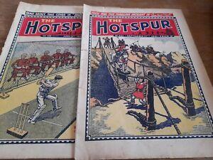 2 HOTSPUR COMICS 1941/42