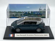 Taxi Renault Avantime Romorantin 2001 1/43