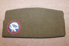 Original 1951 d. U.S. Army Paratrooper/Glider Airborne Wool Overseas Hat w/ID #