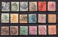 British Commonwealth QV unchecked used collection WS20611