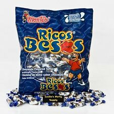 Montes Ricos Besos Chocolate Flovored toffee Candies 6oz Bag Mexican Candy