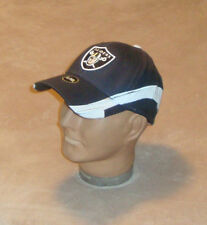 Oakland Raiders Football Structured Flexfit Baseball Hat NFL Adult Size S/M New