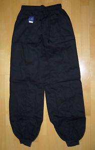 Hose mit Bündchen für Kung Fu, schwarz, verschiedene Größen lieferbar