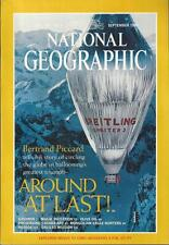 NATIONAL GEOGRAPHIC Sep 1999 ~ Bertrand Picard Ballooning