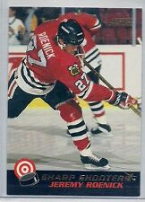 1992-93 Score Hockey Sharp Shooters 4 Card insert lot