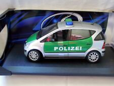 Maisto 35630: Mercedes-Benz A-Klasse, Polizeiversion, Diecast 1/18, NEU & OVP